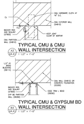 Drywall And Masonry Details Architekwiki