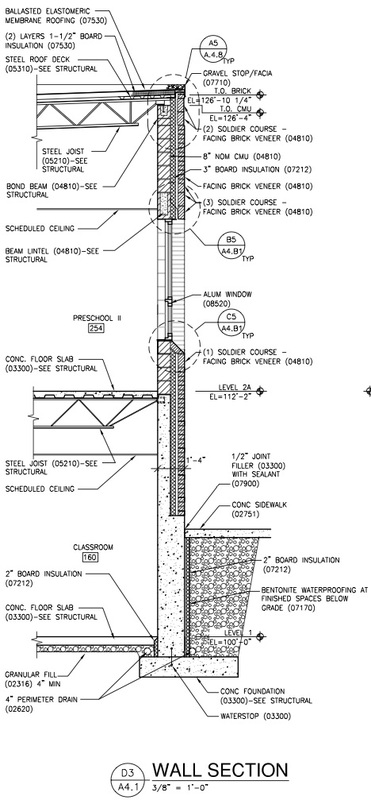 diagram masonry wall construction