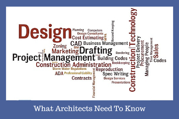 Architects need to know