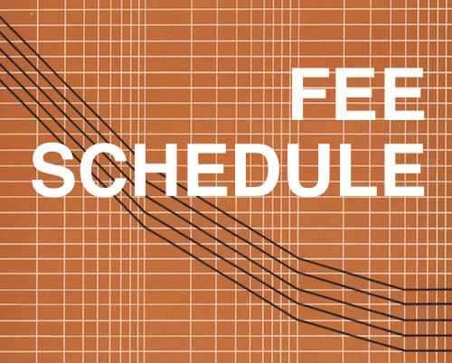 Fee Schedule Concept