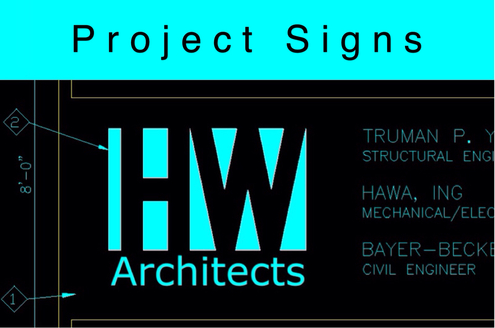 Project Signs