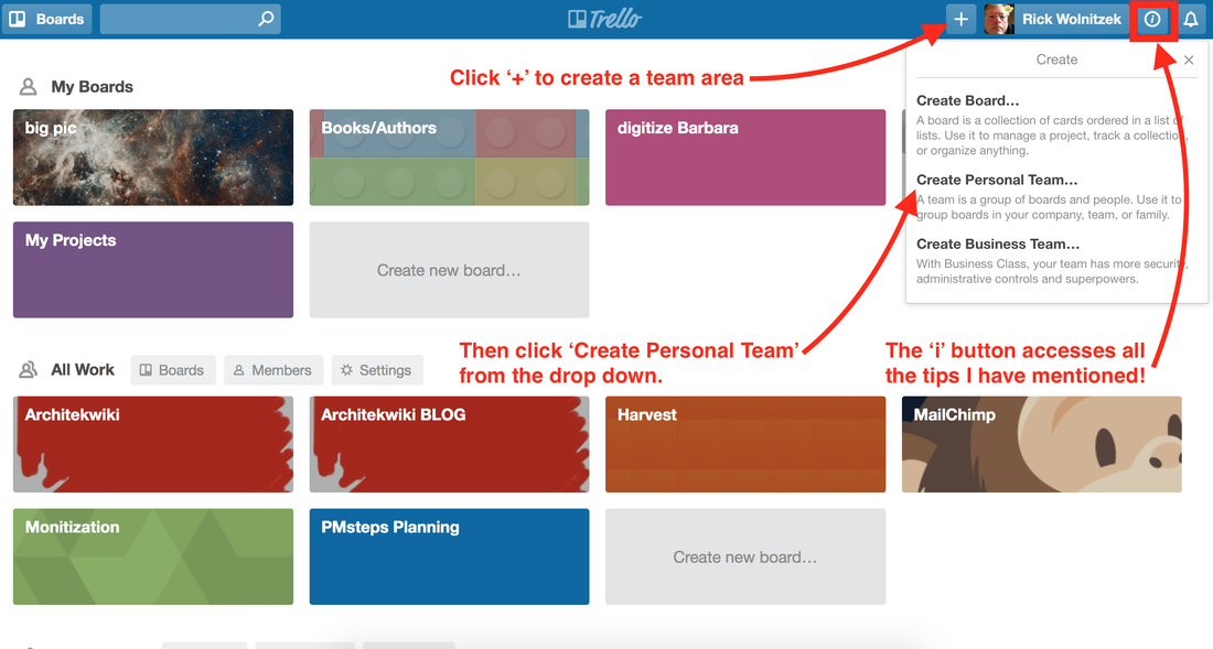 Setting Up Trello For Architects