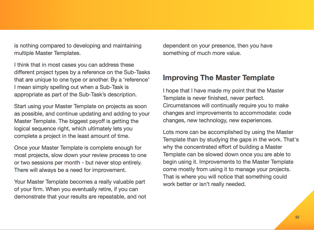 Project Master Template