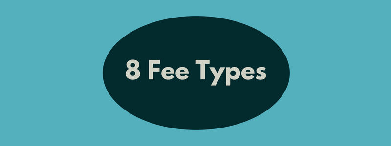 Architectural Fee Types